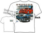 Ford Shirts Mustang T Shirts GT Mustang Clothes Muscle Car 1967 1968 1969 67 68