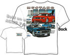 67 68 69 Mustang T Shirt GT 1967 1968 1969 Ford Tee Evolution Sz M L XL 2XL 3XL