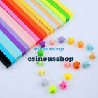 90 900Pcs Origami Strip Folding Paper For Lucky Wish Star Craft DIY New