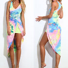 Sexy Women Summer Long Evening Party Dress Beach Dresses Backless Sundress NEW
