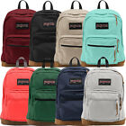 "Jansport ""Right Pack"" Backpack Suede School Book Bag Laptop Original Authentic"