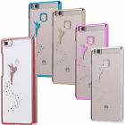Durable Hard Skin Fairy Case Cover chrome effect Huawei