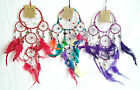 Dream Catcher with Metallic Colours and Small Mirror Tiles - Free UK P&P