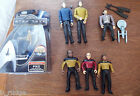 Star Trek Playmates doll action figure toy bundles - Pike Jean Luc Picard Spock