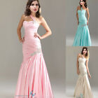Sexy Mermaid Long Evening Dress Party Prom Bridesmaid Dress Size 6 8 10 12 14 16