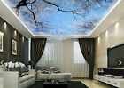 3D Lush Blue Huge Tree2 WallPaper Murals Wall Print Decal Deco AJ WALLPAPER GB