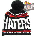 "PULP ""HATERS LOVE ME"" hat beanie cap knit (black/red) NEW"
