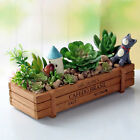 Wooden Garden Herb Planter Window Box Trough Pot Succulent Flower Plant Bed New