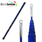 Telescopic Flag Pole. Pro Pole, Blue in Colour, Giant Moving eyelet