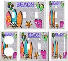 Dragonfly surfboards - SURFBOARDS FLIP FLOPS BEACH LIGHT SWITCH COVER PLATE OR OUTLET V794