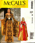 McCalls Pattern 6940 Historical Medieval Dress Costume Oriental 6-14 14-22