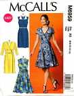 McCalls Pattern 6959 Ladies Wrap Dress and Belt 6-14 14-22