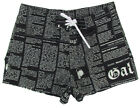 "JOHN GALLIANO ""Newspaper 1OA"" Board Shorts Bermudas Badehose (Schwarz) NEU"