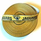 "7/8"" Jacksonville Jaguars Spotted Grosgrain Ribbon by the Yard (USA SELLER!) $4.85 USD on eBay"