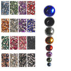HR06 500Pcs, 5,000Pcs High Qty Nail Art Flat Acrylic Rhinestones-5mm Round