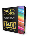 120 Colored Pencils GIANT SET Unique Colors Premium Kids Pro Art [FREE SHIP]