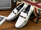 Men's Shoes Driving Moccasin Loafer Casual Slip On Leather Shoes New Experience
