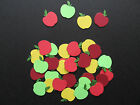 Small Layered & Glued Apple Cardstock Diecuts in Choice of Colours, Paper Crafts
