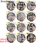 BORN PRETTY Nail Art Stamping Plate Image Stamp Template Manicure Tool BP42-83