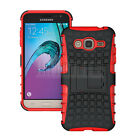 Shockproof Rubber Hybrid Phone Case Cover For Samsung Galaxy J3 2016 / Amp Prime