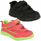 LEGACY TWIN CHILDRENS VELCRO FASTENING CASUAL SPORTS TRAINERS SHOES AIR TECH