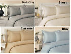 400TC Luxury Cotton Rich Paisley Duvet Cover with Pillowcases Bedding Set
