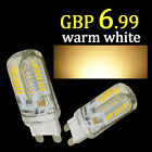UK 2/10x G4 G9 2/5W LED Capsule Bulb Replace Halogen Light Lamps Day/Warm White