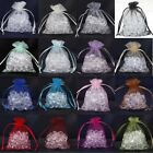Wholesale Premium ORGANZA Wedding Favour GIFT BAGS Jewellery Pouches 16 Colours