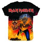 OFFICIAL LICENSED - IRON MAIDEN - NUMBER OF THE BEAST SUBLIMATION T SHIRT METAL