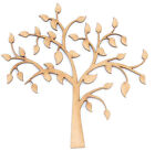Wooden MDF Tree Shape Family Frame Spring Family Tree Wedding Guestbook