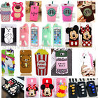 New 3D Cartoon Soft Silicone Phone Back Case Cover Skin Fo Samsung Galaxy Series