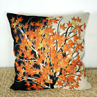 Home Decor Pillow Case Cotton Blend Maple Leaf Sofa Office Bed Cushion Cover
