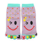 Child Polka Dots Pattern Stretchy Ankle Length Toe Socks 8-9.5