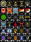 CHOOSE A US ARMY MILITARY UNIT LOGO- LOGO PUDDLE LIGHTS FOR CYCLES or AUTO DOORS