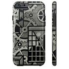 Steampunk FACTORY ONE Steel CASE for iPhone 4/4S 5/5S/5C 6/6S & PLUS Slim Tough