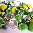 Glass Pebbles / Nuggets / Stones / Beads  **CHOOSE THE COLOURS & QUANTITY**