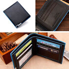 Men Bifold Long/Short Faux Leather Wallet Money Card Holder Coin Bag Purse New