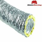 Acoustic Ducting 10m Metres  Flexible Insulated Hydroponics Grow Room Tent