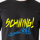 SCHWING! wayne's world SNL nbc garth dvd 90s 80s vintage tv retro Funny T-Shirt
