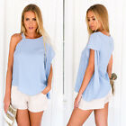 Sexy Women Chiffon Vest Top Loose Sleeveless Tank Tops T-Shirt Blouse Summer