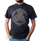 MEN'S PRINT T-SHIRT - BIG CELTIC SCOTLAND - INDIGO - SIZE OPTIONS!