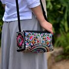Chinese Ethnic Embroidered  Messenger Shoulder Bag Women Handbag Pouch Purse