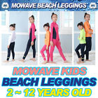 Mowave kids boy girl beach summer swimming rashguard leggings surfingpantsSPF50+