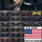 Classic 23-Style Fashion Men's Adjustable Tuxedo Bowtie Wedding Bow Tie Necktie