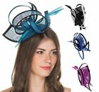 Large Sinamay Loop & Quill Detail Headband Fascinator, from Elegance Boardmans