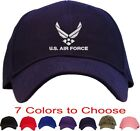 U.S. Air Force Embroidered Baseball Cap - Available in 7 Colors - Hat usaf