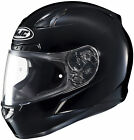 HJC CL-17 Gloss Black Full Face Helmet Snell M2015 Rated (3X to 5XL DOT ONLY)