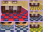 "NFL Licensed 18"" Modular Carpet Tiles 20 Tile Box Set Flooring Rug - Choose Team"