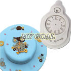 Steam Punk Vintage Clock Silicone Fondant Mould Icing Cake Decor Sugarcraft Mold