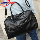 Men Leather Large Vintage Travel Gym Weekend Overnight Bag Messenger Handbag